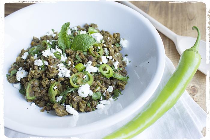 groene linzen recept