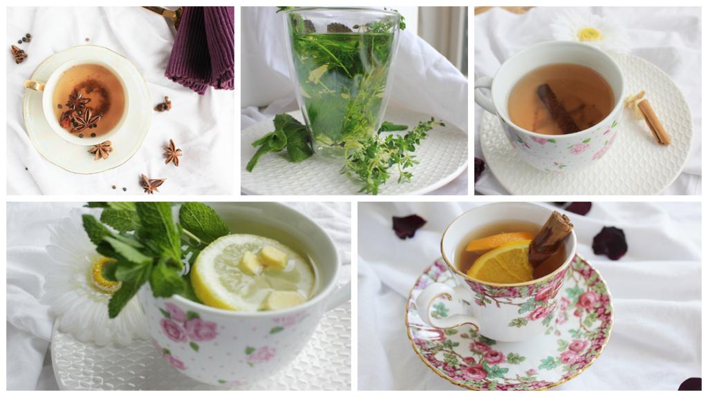 5 x lekkere & gezonde thee