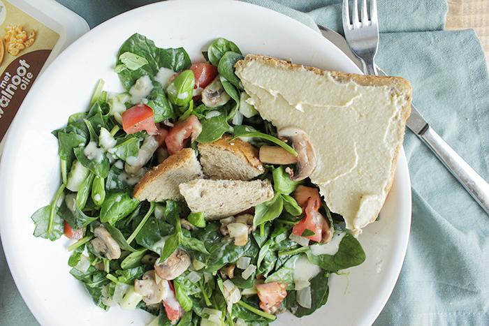 lauwwarme salade