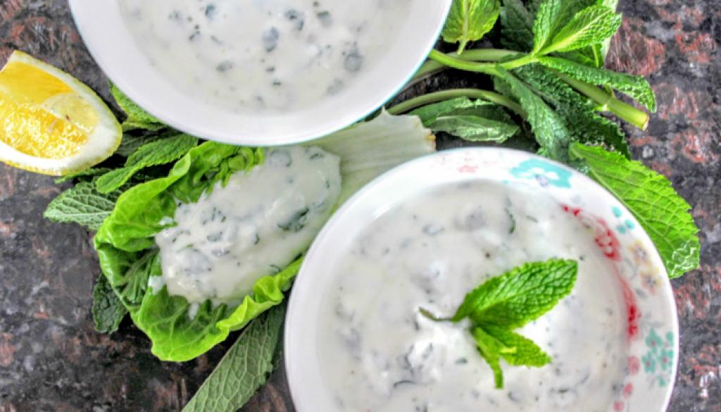 yoghurt muntsaus