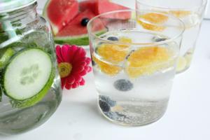 natuurlijke dorstlessers - cocktail