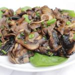 Gebakken champignons op z'n Italiaans