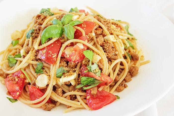 Spaghetti aglio e olio – DeLuxe