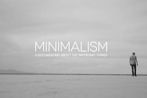 minimalism - documentaire