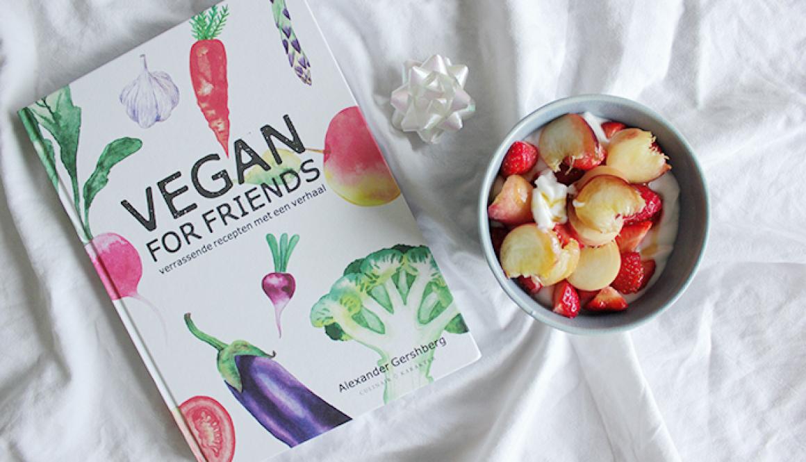 Kookboek - Vegan for friends