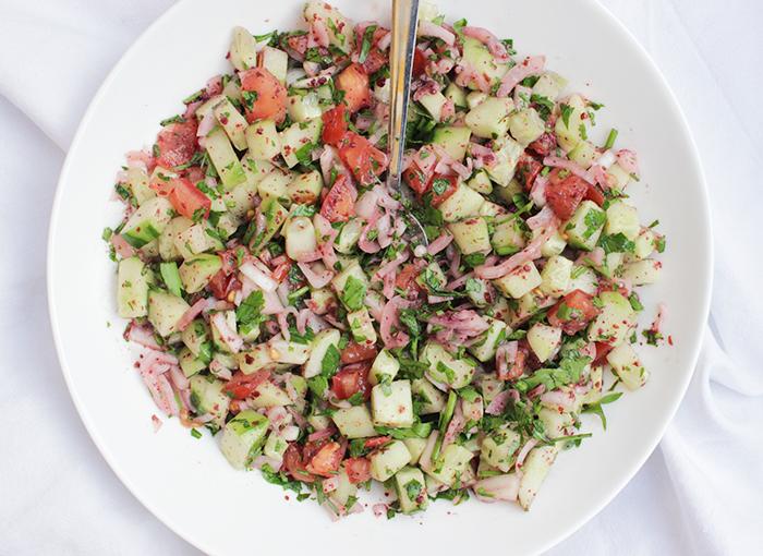salade met munt