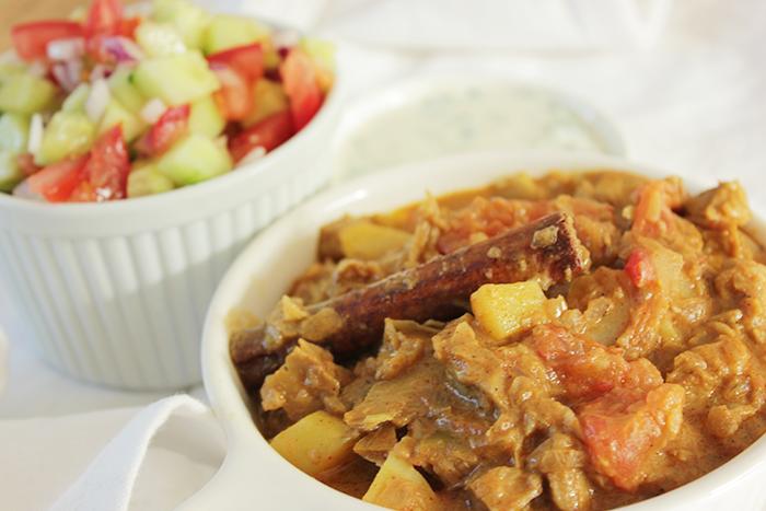 Vegan Chicken Curry