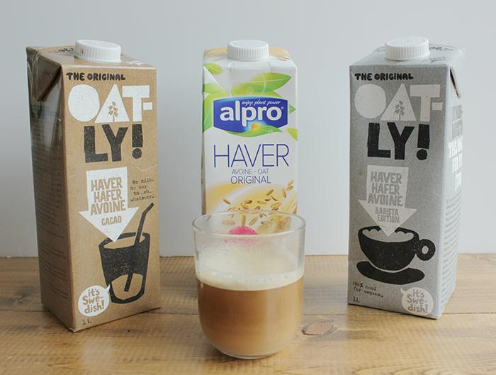melk - plantaardige alternatieven