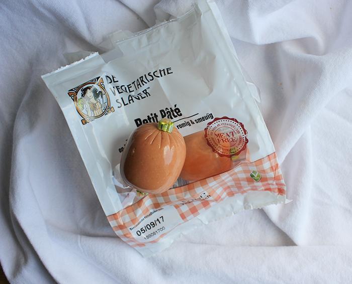 plantaardige opties - paté