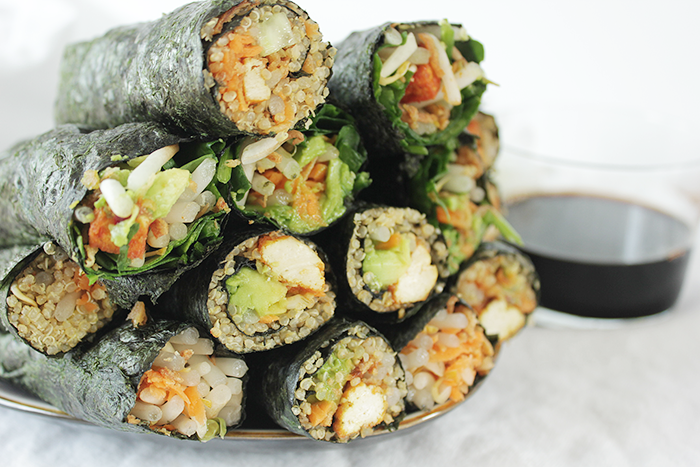 Easy fix nori wraps