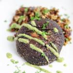 Joyce's Portobello Steak & Boekweit risotto