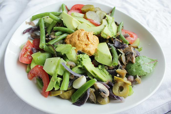 mijn eetdagboek - salade