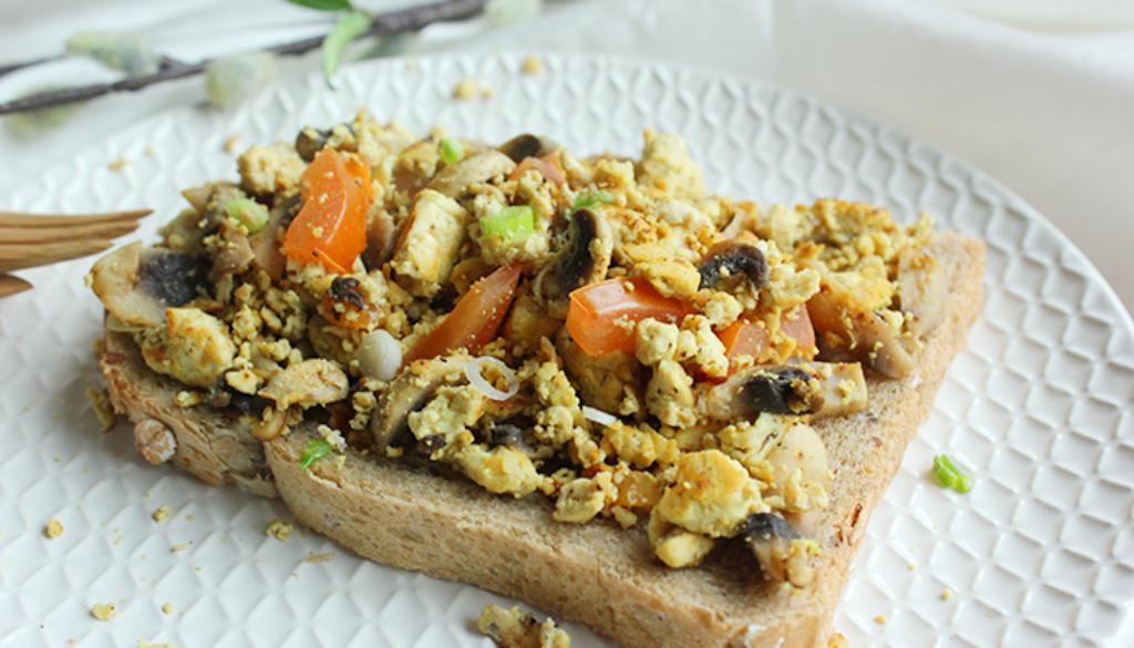 tofu scrambled egg
