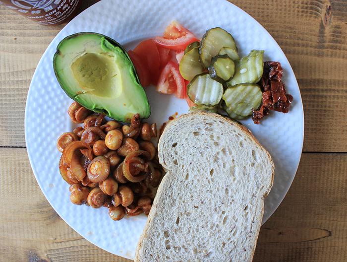 Wat ik eet op een dag – geen zin om te koken
