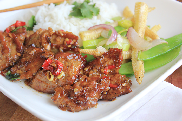 Asian beef recept