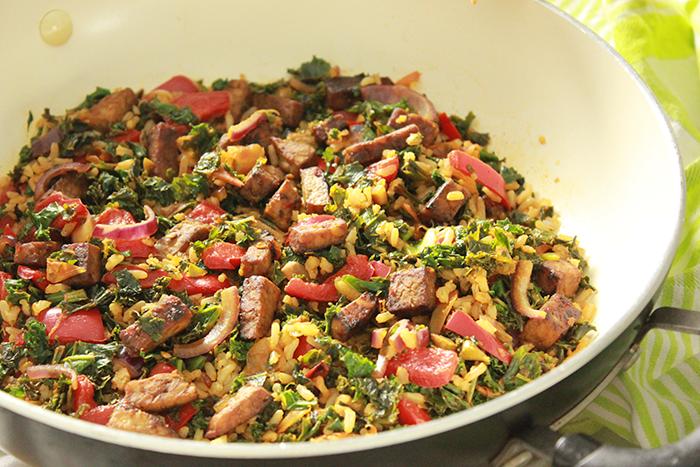 boerenkool met rijst