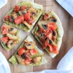 Gezonde mini pizza's voor lunch