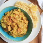 Creamy curry recept met tofu