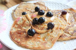 gezonde ontbijt pannenkoekjes