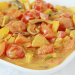 Zoete groente curry, romig en mild