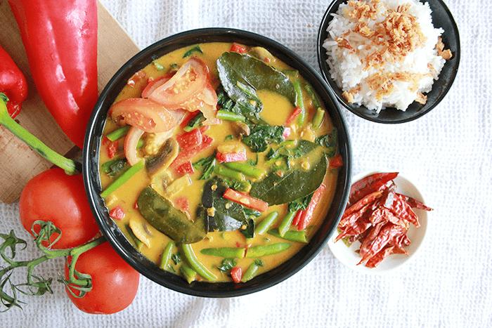 Groentecurry recept: Thaise groentecurry