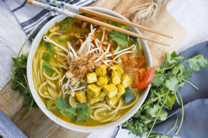Thaise curry noedelsoep recept