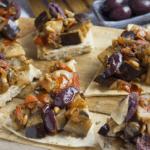 Italiaanse tapenade met aubergine