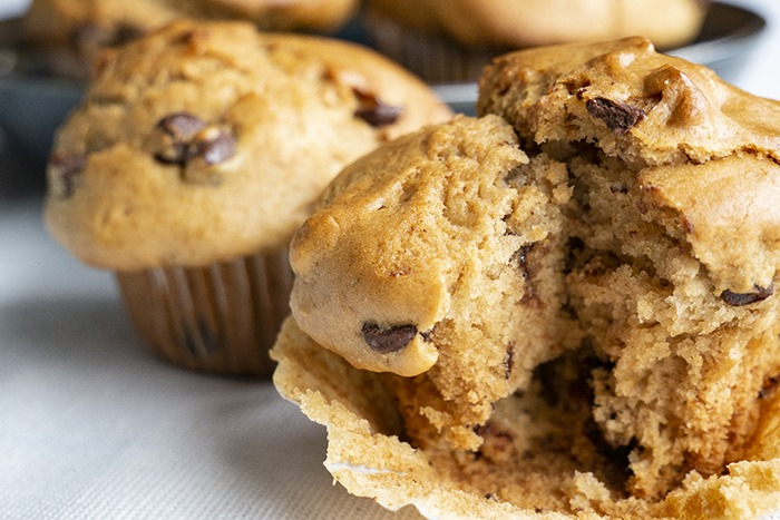 Muffins – recept met chocolate chips