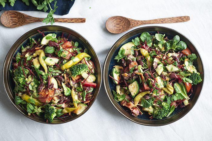 Kidneybonen salade