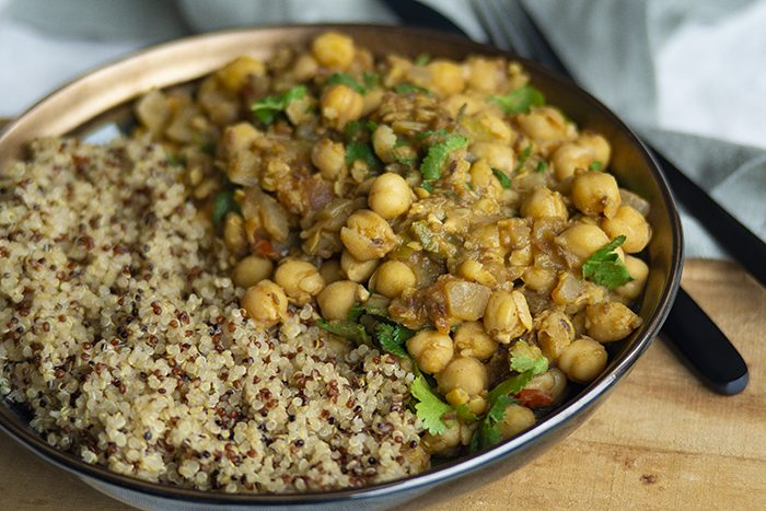 Indiase kikkererwten recept