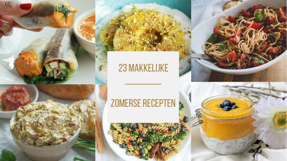 23 x Makkelijke zomerse recepten