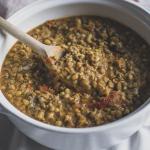 Mungbonen recept Indiase Curry vegan