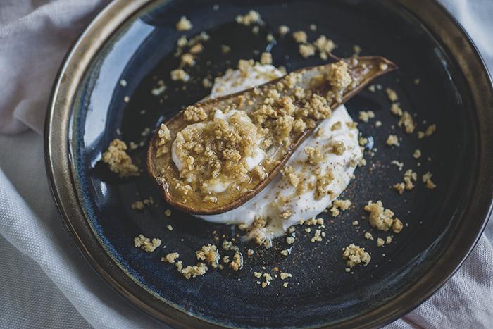 Paasrecept: Peer crumble simpel en heerlijk