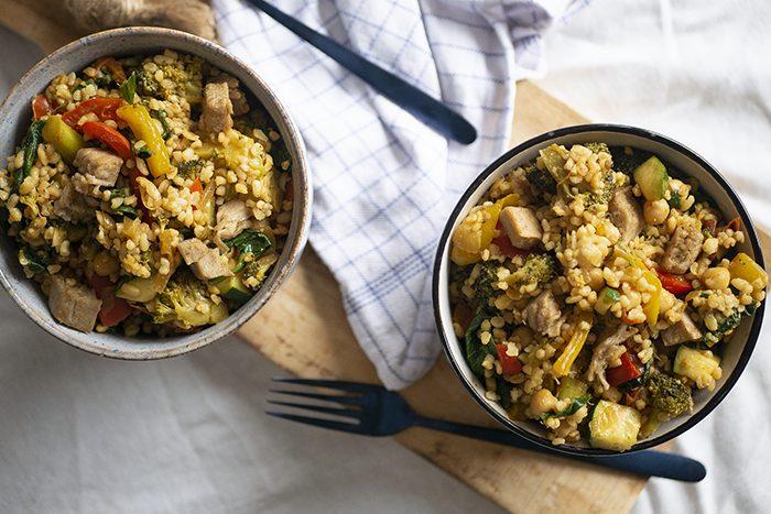 Bulgur nasi recept