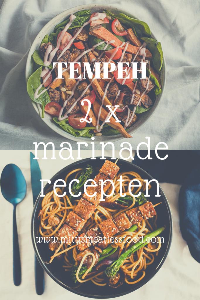tempeh bereiden: 2 variatie recepten